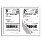 1000 Premium Self Adhesive Paypal Ship Labels 8.5x5.5