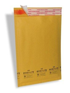 100 #0 6x10 Kraft Bubble Mailers Padded Envelopes Bags CD DVD 6 x 10