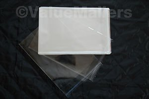 1000 9x12 1.5 MIL SELF SEAL LIP & TAPE CLEAR POLY BAGS POLYPROPYLENE
