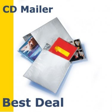 """50  (Poly) CD 6.5""""x8.5"""" Bubble Mailers Padded Envelopes"""