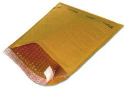 "1000 #0 6.5x10 "" Bubble - Lite "" X- Wide Kraft Bubble Mailers Padded Envelopes"