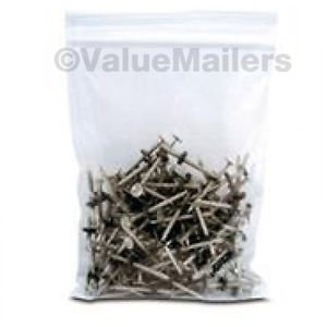 500 ~ 10x12 ~ Ziplock Clear Reclosable ~ 2 ML Bags