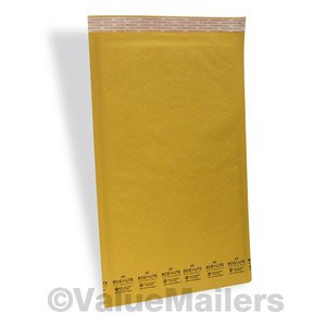 50 #6 12.5x19 Kraft ^ Bubble Mailers Padded Envelopes