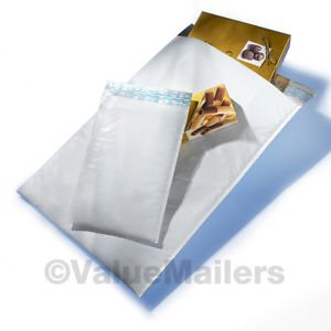 100 #1 (Poly)^ USA High Quality Bubble Mailers 7.25x12