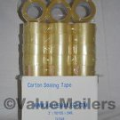 Tape 42 Rolls Quality Packaging 2 mil Packing Moving Box Carton Sealing 2x110