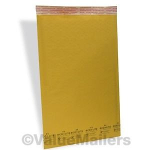 2000 #5 10.5x16 Kraft ^ Bubble Mailers Padded Envelopes Bags 10.5 x 16 100.20