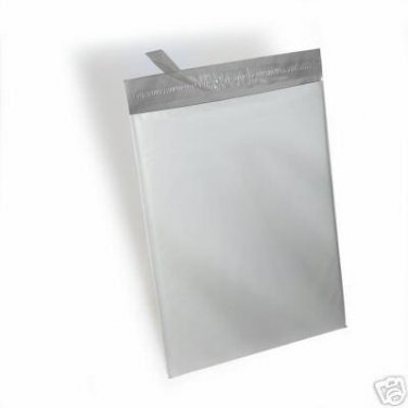 25 - 14.5x19 $ Poly Mailers Bags White Plastic Shipping Bag Envelope 14.5 x 19