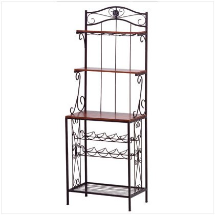 SALE - Baker's Style Wine and Glass Rack - SS34775
