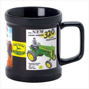 11OZ John Deere Black Ads Mug - SS38262