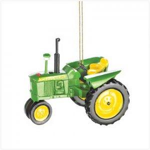 John Deere Tractor Ornament - SS38352