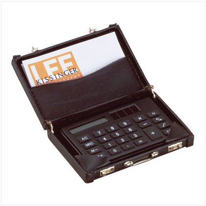 Mini-Briefcase Calculator - SS25895