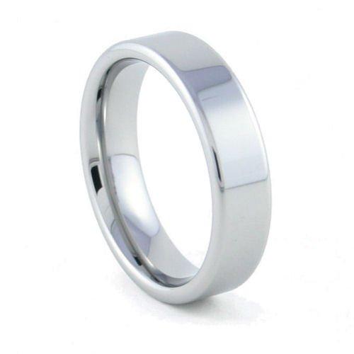 Palisades - 6mm Flat Tungsten Carbide Band