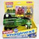 Imaginext Green Lantern Jet + Flash Hawkman Target DC Super Friends Fisher Price