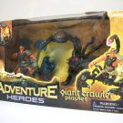 Adventure Heroes Giant Crawler playset Chap Mei Excite scorpion demon pharaoh