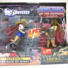 Supergirl vs She-Ra DC vs Masters of the Universe Mattel motuc TRU 2010