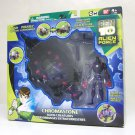 Ben 10 Chromastone Alien Force Creatures vehicle set Bandai 2008