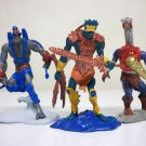 Mekaneck Mer Man Stratos mini figures - Masters of the Universe Mattel motu he-man 2002