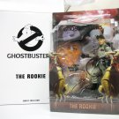 Ghostbusters The Rookie figure w/ Ghost Trap video game Matty Mattel 2011