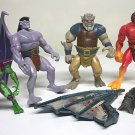 Disney's Gargoyles figures parts customs lot Goliath wings Kenner 1995
