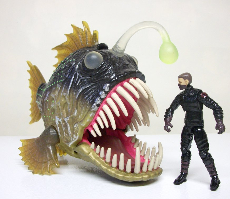 chap mei angler fish 10 toy animal planet anglerfish