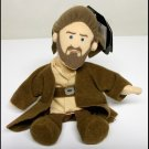 Qui-Gon Jinn Star Wars Beanie Buddies jedi bean bag plush doll 1998