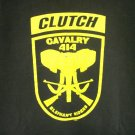 Clutch Elephant Riders Cavalry 414 t-shirt official band Mens XL black pre-owned 1998