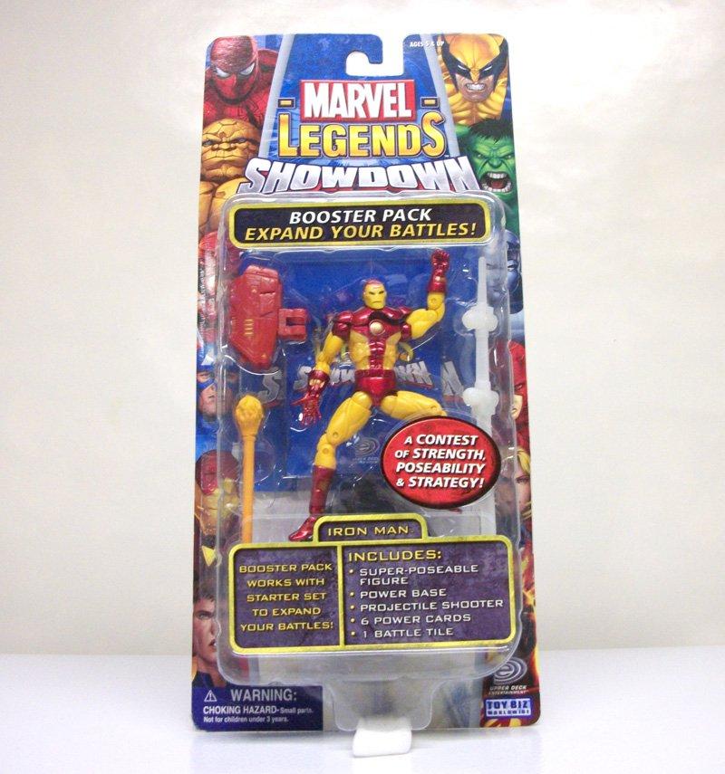"Iron Man Marvel Legends Showdown 3.75"" figure avengers Toybiz 2005"