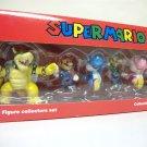 Super Mario mini figure collectors set Bowser Luigi Yoshi Toad pink blue 2011