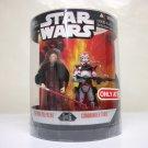 Commander Thire & Emperor - Star Wars Order 66 Target clone 2-pack rots Hasbro 2006