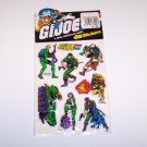 G.I. Joe vintage 3D sticker set unopened gijoe puffy stickers Ourway Hasbro 1984