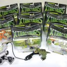 Xtractaurs Lot of 9 dinosaurs action figure collection extraction gun online game Mattel 2009