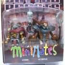 Vorin & Scorpus - Battle Beasts Minimates figures set ram scorpion Diamond 2012