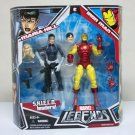 Iron Man & Maria Hill Leaders of SHIELD Marvel Legends 2-pack Hasbro 2008