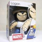 Marvel Mighty Muggs Logan figure with hat - Marvel Universe Muggs wave 6 Wolverine X-Men Hasbro 2009