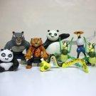 Kung Fu Panda Lot of 8 toys - Po McDonalds Happy Meal Dreamworks 2008