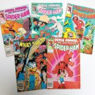 Spider-Ham lot of 5 books F-VF Marvel Comics peter porker 13 14 15 what the? copper age 1985