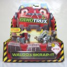 DinoTrux Waldo & Skrap-It 2-pack diecast toys dreamworks netflix Mattel 2015