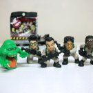 Ghostbusters Lot of 5 Ecto Minis Classic Peter Ray Egon Winston Slimer blind-bag figure Mattel 2016