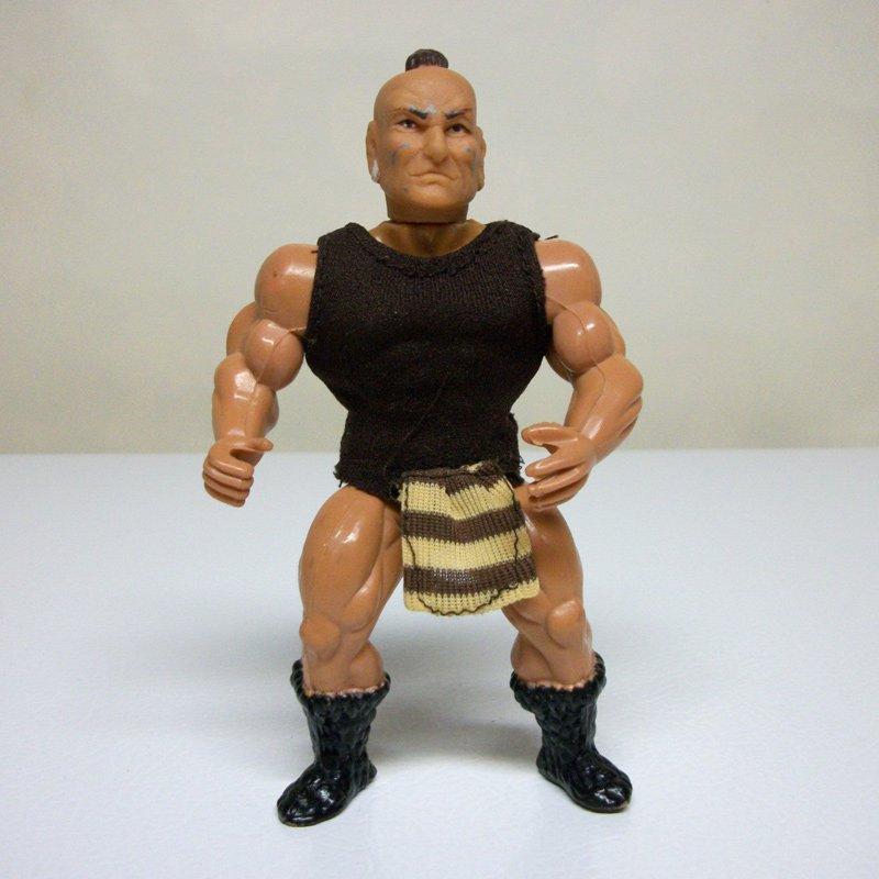 Remco Sungold KO Galaxy Fighters Wrestlers vintage figure he-man motu knock-off
