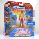 Kid Flash Walmart Excl. Young Justice DC Universe wally west poster Mattel 2011