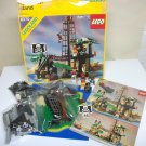 1989 Lego Pirate Forbidden Island set 6270 instructions box cover incomplete vintage 5 mini figures