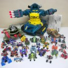 1992 Z-Bots Lot of 36 Megabot Z-Dome Linkbots vintage robots instructions micro machines galoob