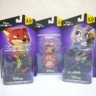 Zootopia Disney Infinity 3.0 lot Judy Hopps Nick Wilde power disc pack figures