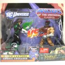 Zodac vs Green Lantern Masters of the Universe vs DC Classics Mattel motuc dcuc TRU 2010