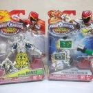 Power Rangers lot Bones & Professor Strickler Dino Charge Villains lot of 2 prof Bandai 2015