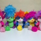 "Popples Lot of 5 Pop Open Plush 8"" new w/ tags set izzy sunny lulu bubbles yikes Spin Master 2015"