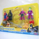 Imaginext 6-pack DC Super Heroes vs Villains figures set Superman Batman Cheetah Fisher Price 2017