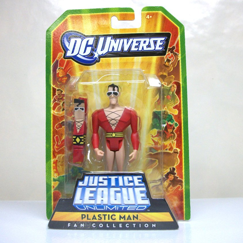 2009 JLU Plastic Man single pack Justice League Unlimited Mattel