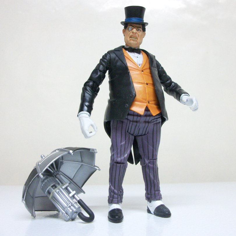 Penguin wave 1 DC Classics Universe loose figure dcuc metamorpho batman villain 2007
