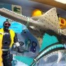 TRU Sawfish Deep Sea Discovery playset Animal Planet life sailfish Toys R Us Chap Mei Lontic 2006